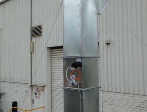 Flammable Goods Bunker Ventilation System