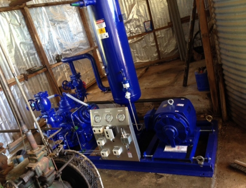 Ammonia Compressor and System Upgrade