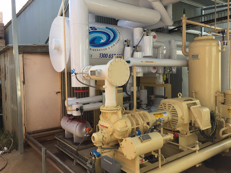 Commercial Refrigeration Melbourne Glycol Ammonia